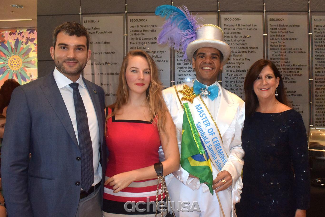 Brazilian beat 2016 lota o mizner park em boca raton for Alex muralha e esposa
