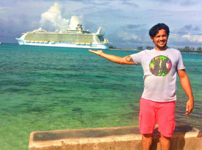 Lucirlei tirou fotos em Nassau antes de desaparecer