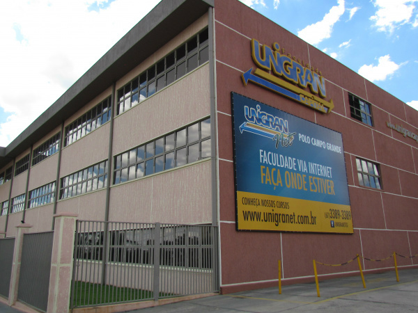Unigran tem sede no Mato Grosso do Sul