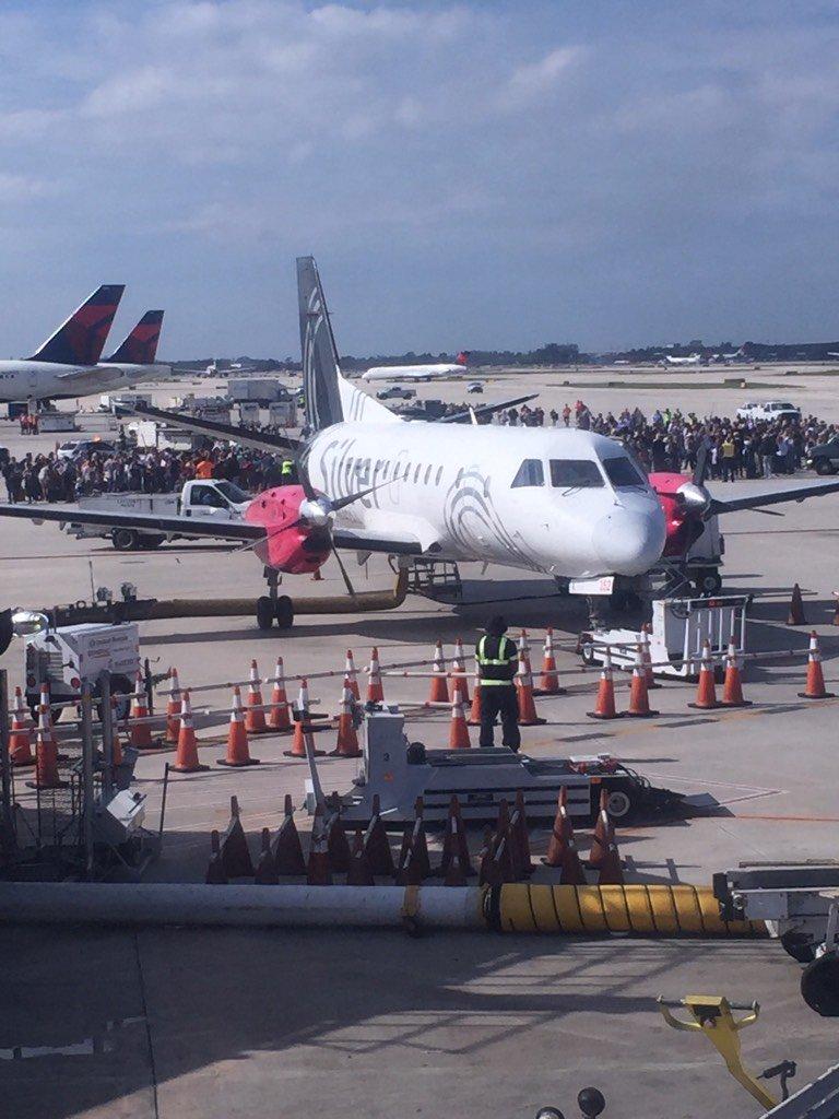 Aeroporto está fechado para qualquer tipo de operação