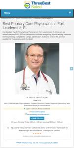 Franzon é um dos três melhores médicos de Fort Lauderdale