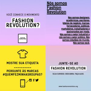 Fashion Revolution  O Movimento que está ganhando o mundo  72a67790623