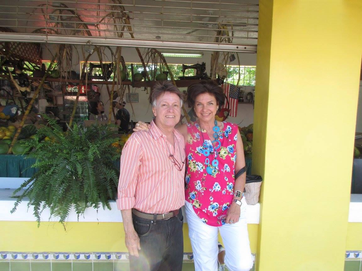 Marcelo e Adriana Sabino. O empresário Marcelo é o maior incentivador e um dos patrocinadores da entidade