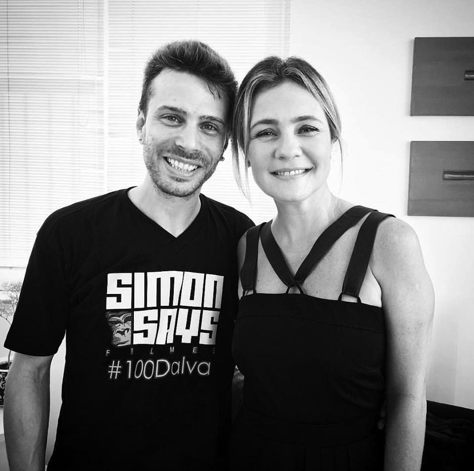 """Bernardo Martins e Adriana Esteves, que encarnou Dalva na minissérie """"Dalva e Herivelto, uma Canção de Amor"""""""