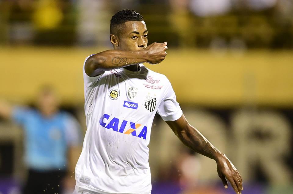 ebbd6961108e6 Bruno Henrique vem confirmando expectativa e mostrando seu lado artilheiro  na equipe santista