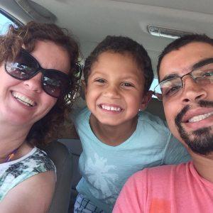 Marielle entre o marido e o filho 'estamos mais unidos'
