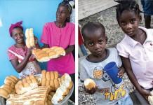 Padaria no Haiti