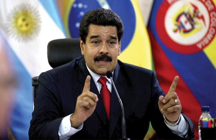 Presidente venezuelano Nicolás Maduro