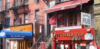 Peculier Pub, um dos redutos cervejeiros mais tradicionais da cidade de New York