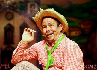 O ator André Luiz Ferreira na pele do personagem Sô Zé