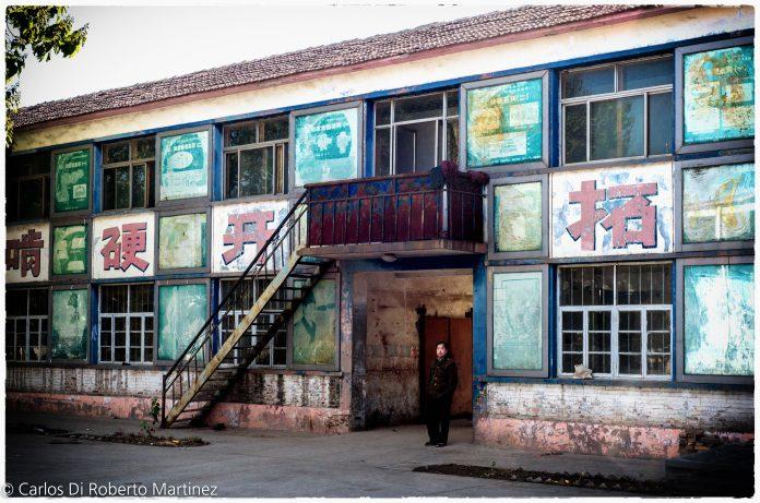 Residência de trabalhadores em Dezhou, China