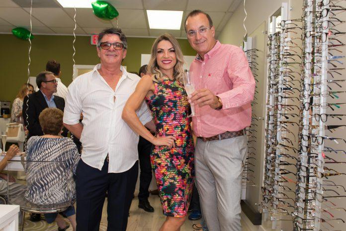 Vilson Leite, Tayza Martino e José Melo Freire