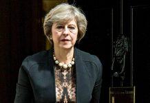A conservadora Theresa May