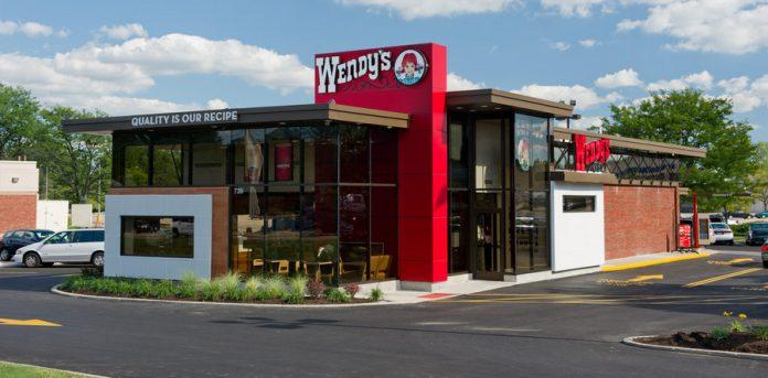 Loja da rede de fast-food americana Wendy's