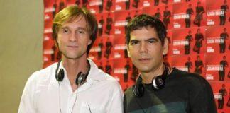 Os músicos Marcelo Bonfa e Dado Villa Lobos