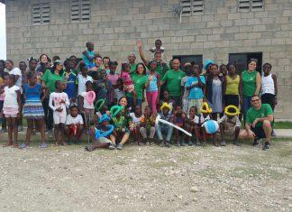 Grupo de voluntários viajou pela primeira vez ao local e ficou impactado e feliz com a experiência