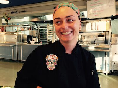 A catarinense Paula Muller é responsável pela cozinha do Cirque du Soleil