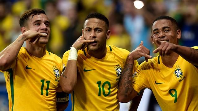 Neymar faz o 50º gol pela Seleção Brasileira