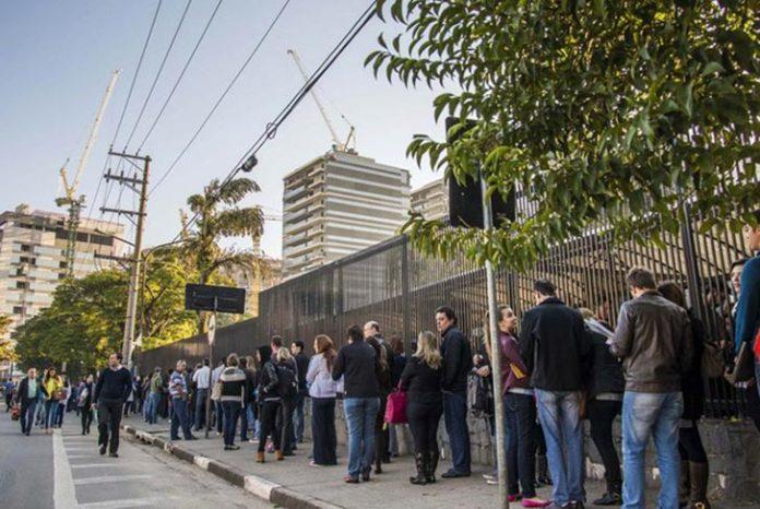 Entrada do Consulado em São Paulo