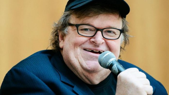 Cineasta e ativista americano Michael Moore