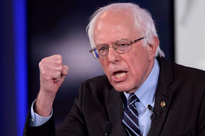 O senador Bernie Sanders