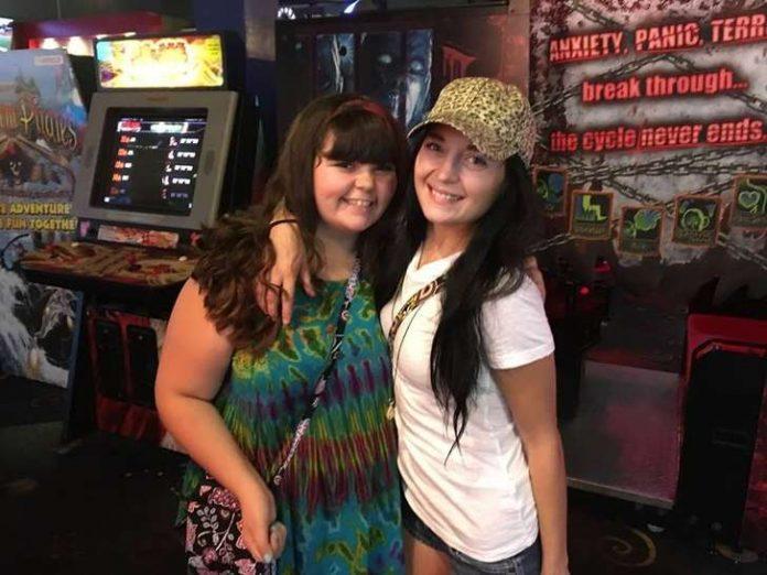 Samantha (direita) estava desaparecida desde o dia 18 de novembro