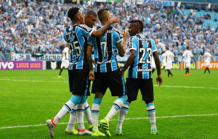 Grêmio deu um grande passo rumo ao título da Copa do Brasil e venceu o Atlético Mineiro na casa do adversário por 3 a 1