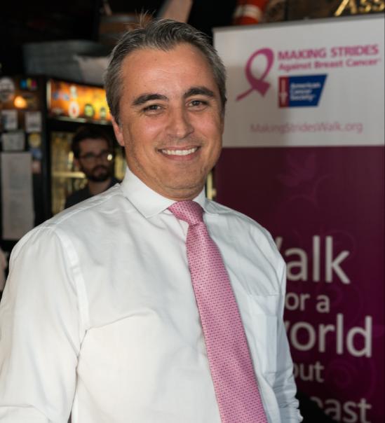 Marcelo Blaya é oncologista na Flórida