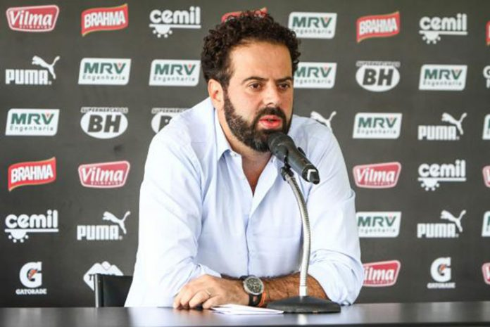 Presidente do Atlético Mineiro Daniel Nepomuceno