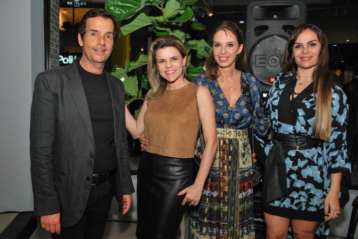 Luiz Bick, Erika Queiroz, Esther Schattan e Sihame Cruz