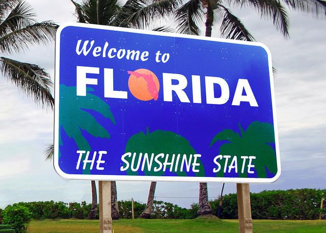 População da Flórida foi a segunda que mais cresceu em um ano
