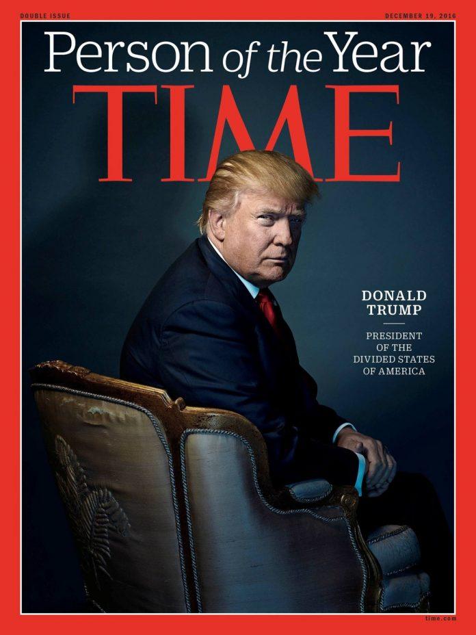 Donald Trump é eleito personalidade do ano
