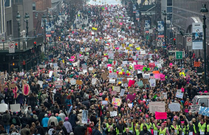 Marcha em NY - Foto Getty Images