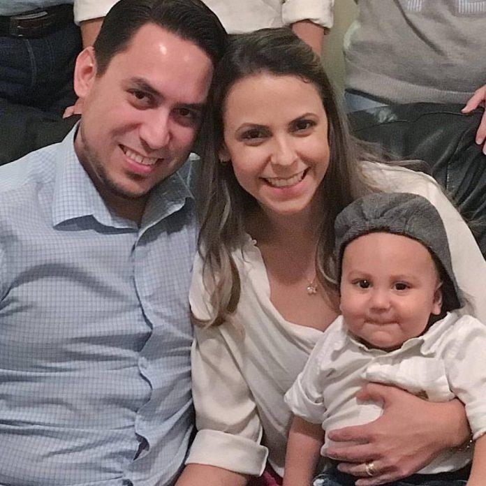 Família comemora recuperação do pequeno Ben