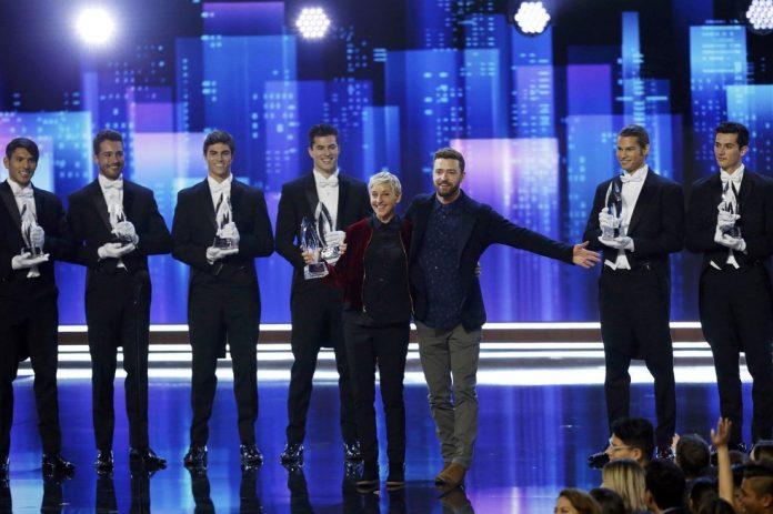 Ellen levou três troféus em premiação que é decidida pelo público