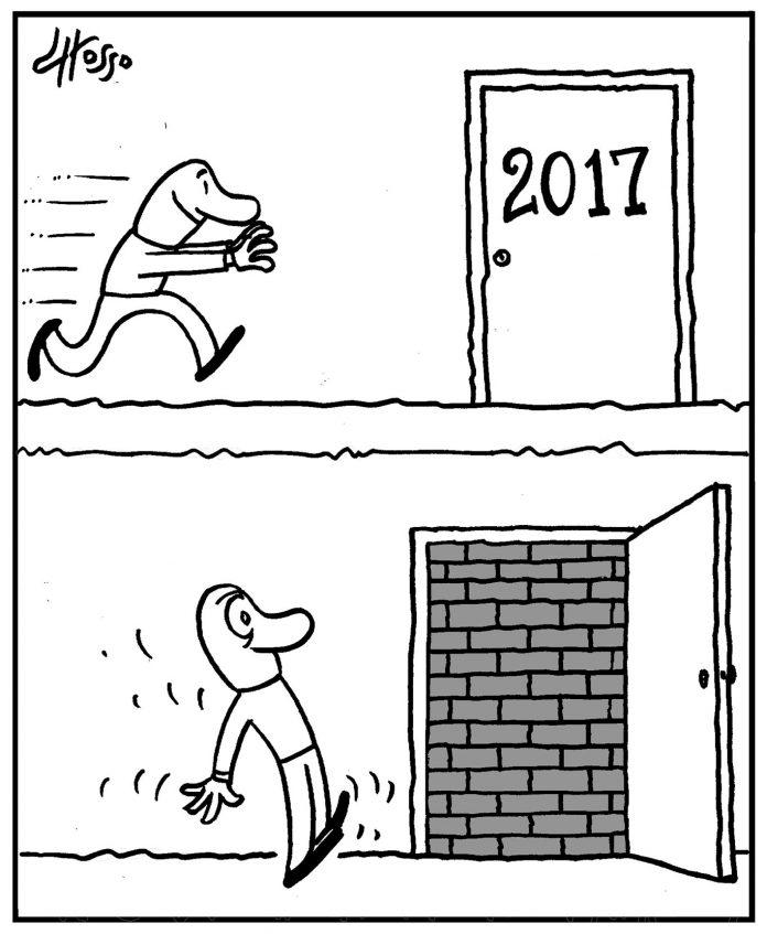 Ano novo, a mesma coisa