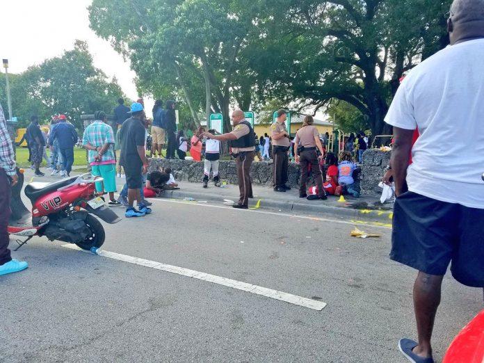 Tiroteio causou tumulto no MLK Park em Miami