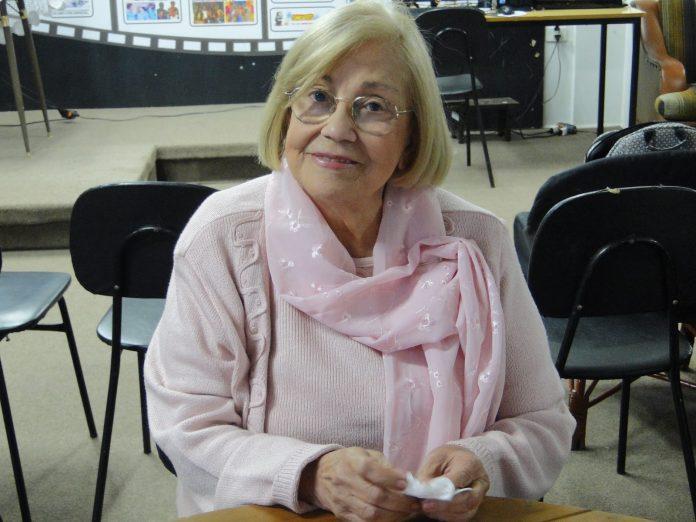 A atriz e escritora Vida Alves