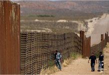 Número de imigrantes tentando atravessar a fronteira caiu 40%
