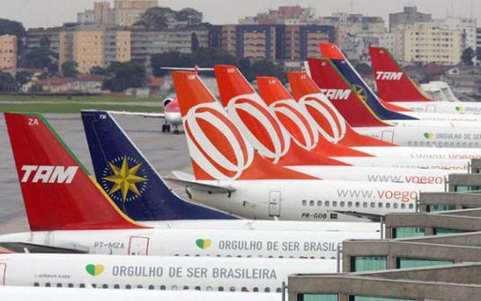 Em 2016 transporte aéreo recuou 5,7%