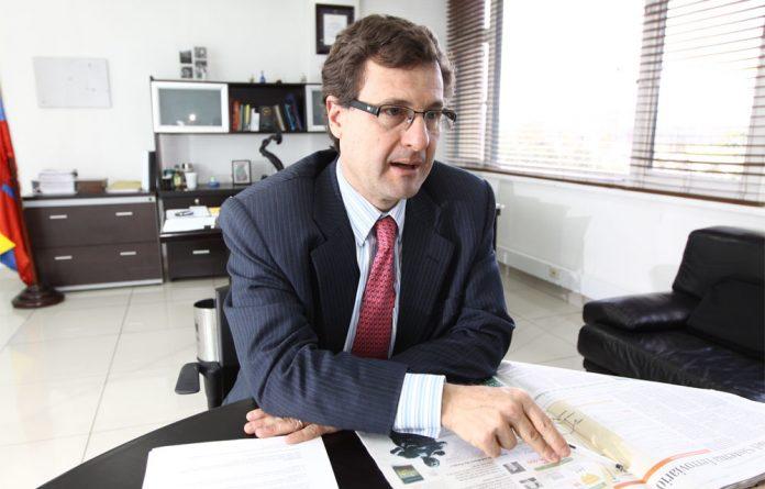 Luis Andrade, chefe da Agência Nacional de Infraestrutura