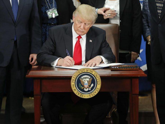 Trump sofreu a primeira derrota em seu governo