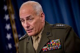 Secretário de Homeland Security, John Kelly