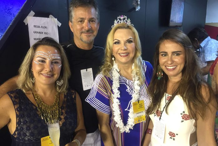 Silvana Hamade,Ragheb Hamade, Marta e Felicia Batista Ramos