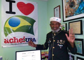 Geraldo Corredor da Paz está passando uma temporada na Flórida