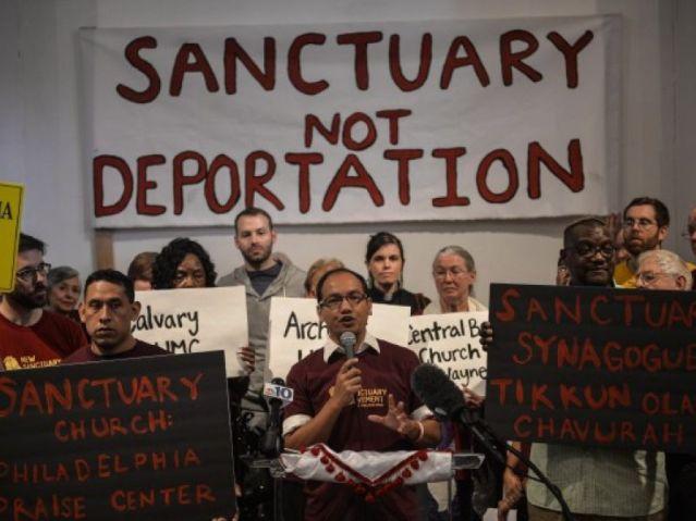 Imigrantes defendem as 'cidades santuário' na Philadelphia