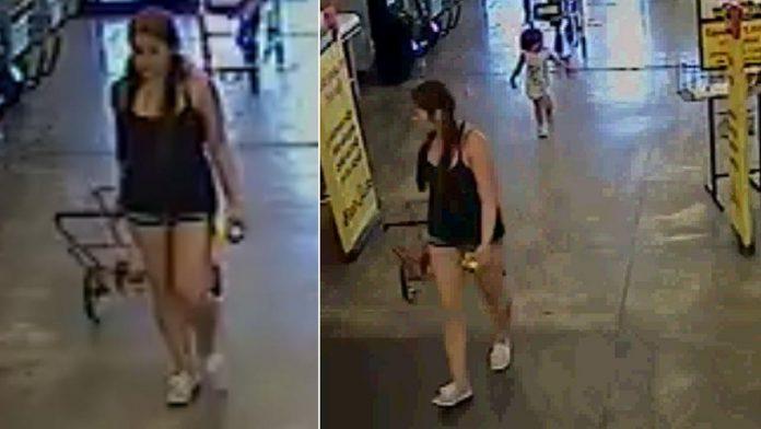 Polícia está procurando por mulher que abandonou a filha na Califórnia