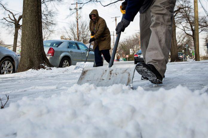 Previsão é de nevasca nos próximos dois dias na Costa Leste FOTO: nytimes
