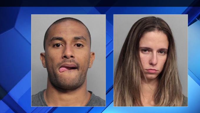 Rafael e a namorada estão presos