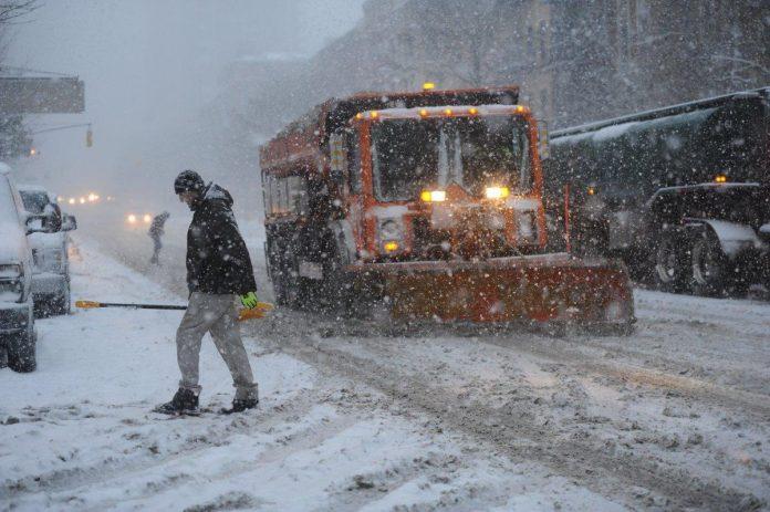 Nevasca causa transtornos na Costa Leste